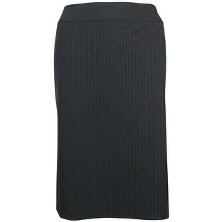 Tahari Women's Basic Pinstripe Pencil Skirt