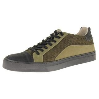 Steve Madden Mens Elliot Fashion Sneakers Suede Toe Cap