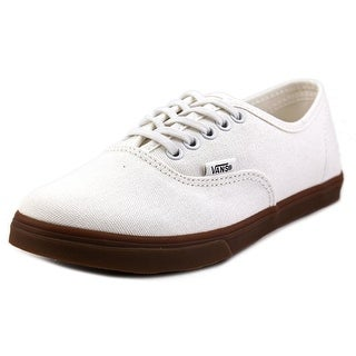 Vans Authentic Lo Pro Women Round Toe Canvas Ivory Sneakers