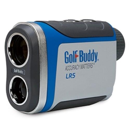 GolfBuddy LR5 Golf Laser Rangefinder (Light Gray/Blue)