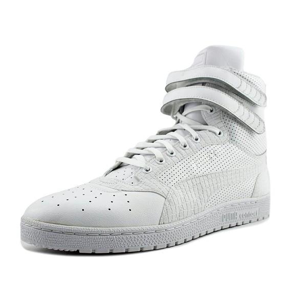 Puma Sky 2 Hi Men Round Toe Canvas Sneakers