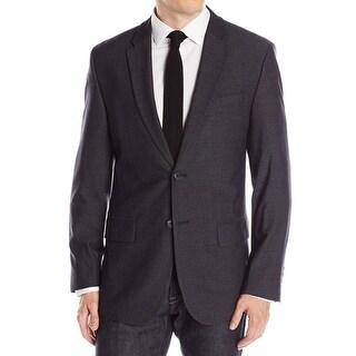 Calvin Klein NEW Gray Men Size Large L Two Button Notched Lapel Blazer