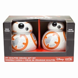 Star Wars: The Force Awakens BB-8 Sculpted Ceramic Gift Set: Mug and Bank