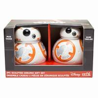 Star Wars: The Force Awakens BB-8 Sculpted Ceramic Gift Set: Mug and Bank - Multi