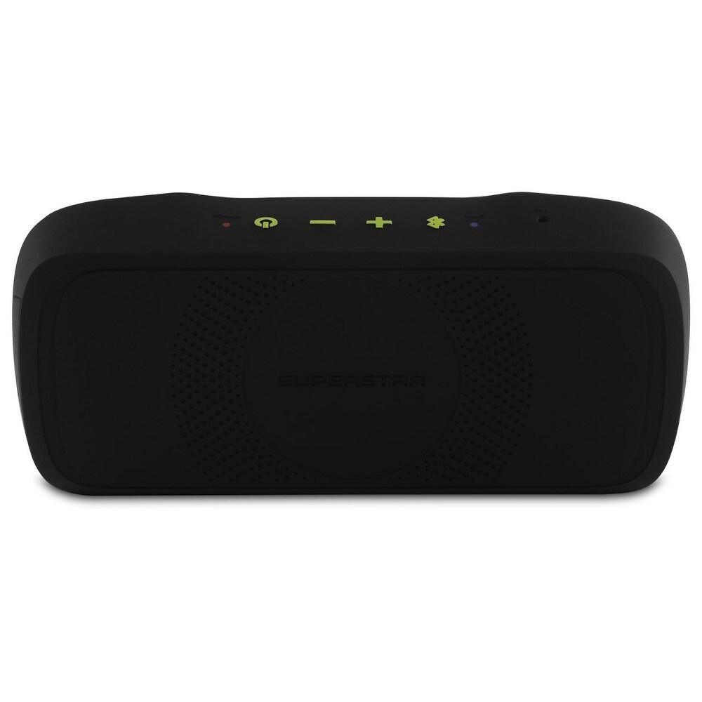 4 x 7 JAM Thrill Bluetooth Wireless Stereo Speaker Black//Red HX-P320RD By HMDX