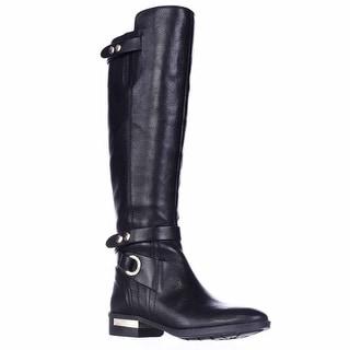 Vince Camuto Prini Black Easy Rider Boots - Black
