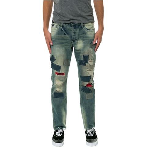 Born Fly Mens The Nassau Denim Regular Boot Cut Jeans
