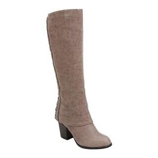 Fergalicious Women's Tender Knee High Boot Doe Oiled Fabric