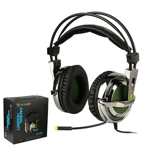 9f089a98d47 Sades SA-928 Stereo Lightweight PC Gaming Headphones/Headset, 3.5 mm Jack  with