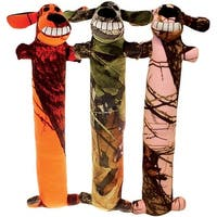 "Multipet 54174 Mossy Oak Loofa Plush Dog Toy, 12"", Medium, Multicolored"