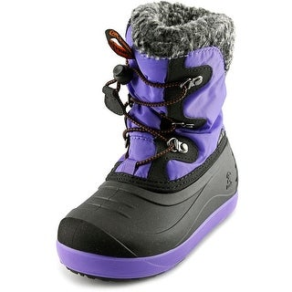 Kamik Dashaway Round Toe Canvas Snow Boot