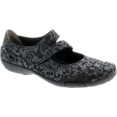 Ros Hommerson Women's Chelsea Black Jacquard Leather