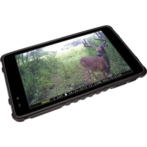 Moultrie MCA-13052 Waterproof Tablet Viewer with Quad Core Processor & 4 GB Internal Memory