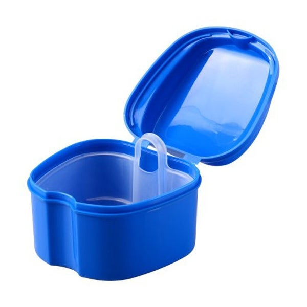 ORAfix Complete Care Premium Denture Bath, Colors May Vary - Blue/Purple/White - N/A
