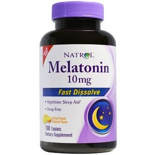 Natrol Melatonin 10 mg Fast Dissolve (100 Count)