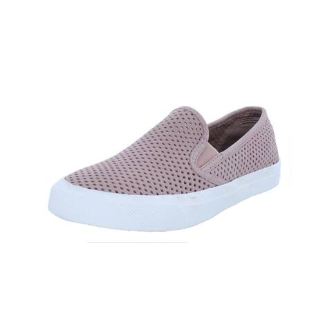 Sperry Womens Seaside Casual Shoes Perforated Suede