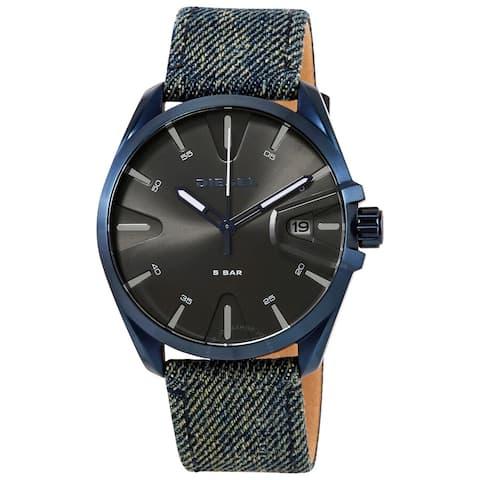 Diesel Men's MS9 Black Dial Watch - DZ1932 - One Size