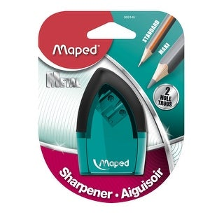 Maped Tonic 2-Hole Pencil Sharpener with Metal Insert, Assorted Color