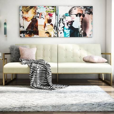CosmoLiving by Cosmopolitan Lexington Modern Futon