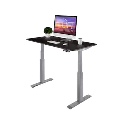 AIRLIFT S3 Electric Standing Desk Frame With 54 in Top, Dual Motors (Max. Height 51.4 in) and 4 Memory Buttons