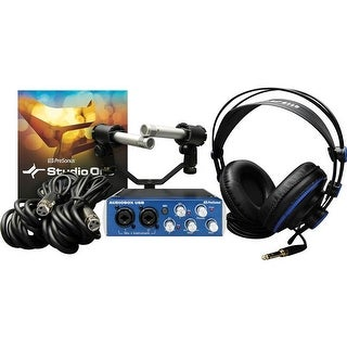 PreSonus 125063 Audio Box TM Stereo Recording Bundle