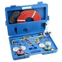 Arksen Gas Welding & Cutting Torch Kit, Professional Set, Victor Type, Carrying Case