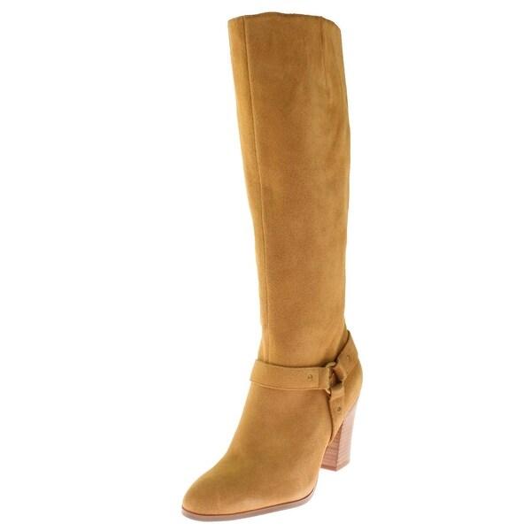 3438a14ff9a Lauren Ralph Lauren Womens Fareeda Riding Boots Suede Knee High - 9.5  medium (b