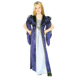Juliet Costume Child - Blue