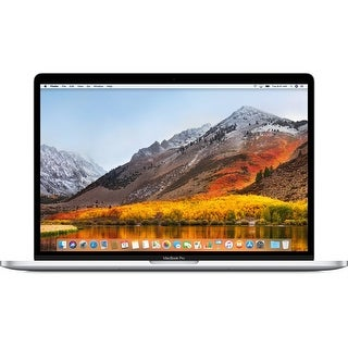 """Apple 15.4"""" MacBook Pro with Touch Bar (Mid 2018) Silver (Spanish Keyboard)"""