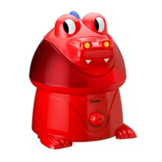 Crane EE-5058 Dragon Ultrasonic Cool Mist Humidifier - Red