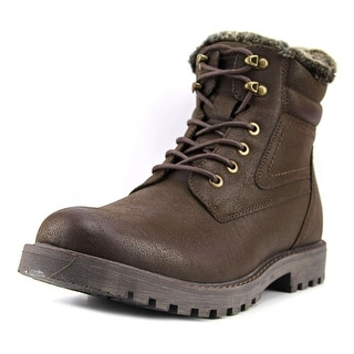 GBX Lorcan Men  Round Toe Synthetic Brown Boot