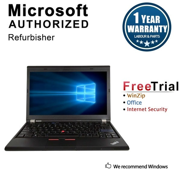 "Refurbished Lenovo ThinkPad X220 12.5"" Laptop Intel Core I5 2520M 2.5G 4G DDR3 250G Win 10 Professional 64 1 Year Warranty"