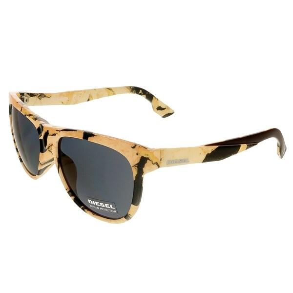Diesel DL9076/S 47A Peach Wayfarer Sunglasses - 56-16-145