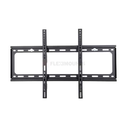 """FLEXIMOUNTS Fixed TV Wall Mount fits for most of 32""""-65"""" Max Wall Mount Pattern VESA 600x400mm"""