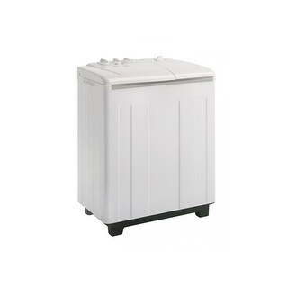 "Danby DTT100A1 29"" Wide 2.3 Cu. Ft. Capacity Portable Washer with Overflow Protection - White - N/A"
