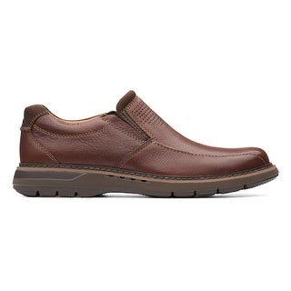 33cecb7becb0e Shop Clarks Mens Un Ramble Step, Mahogany - Free Shipping Today - Overstock  - 22874124