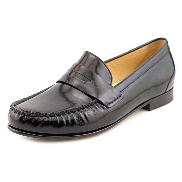 Cole Haan Monroe Penny Women Round Toe Leather Brown Loafer