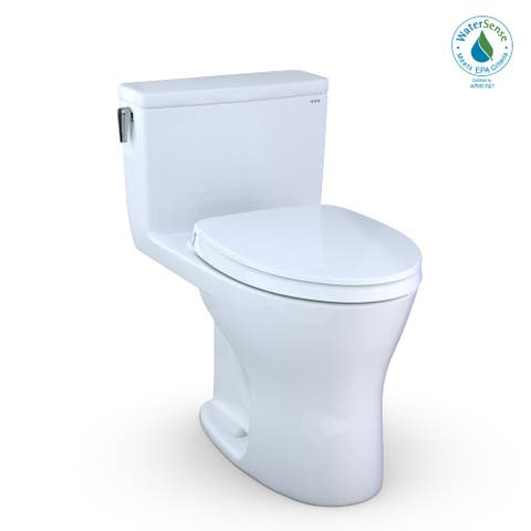 TOTO MS856124CEMG TOTO UltraMax One-Piece Elongated Dual Flush 1.28 - Cotton