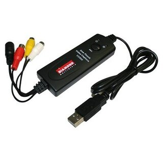 Diamond Vc500 Usb 2.0 One Touch Vhs To Dvd Video Capture Device With For Win7, Win8 & Win10