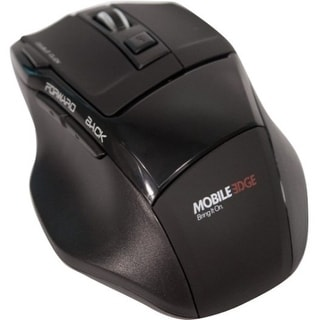 Mobile Edge MEAM07 Mobile Edge USB Wireless Optical 7 Button Mouse - Optical - Wireless - Radio Frequency - Black - USB - 2000