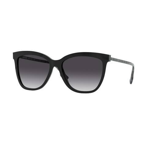 Burberry BE4308 38588G 56 Black Woman Square Sunglasses