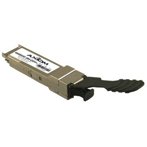 """Axion 40G-QSFP-SR4-AX Axiom 40GBASE-SR4 QSFP+ for Brocade - For Data Networking - 1 x 40GBase-SR4 - 5 GB/s 40 Gigabit"