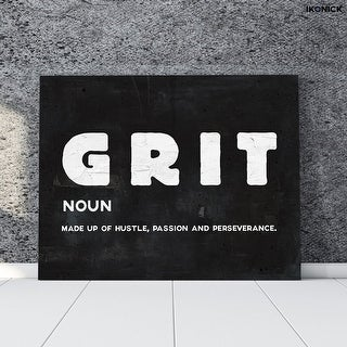 IKONICK Grit Canvas Art
