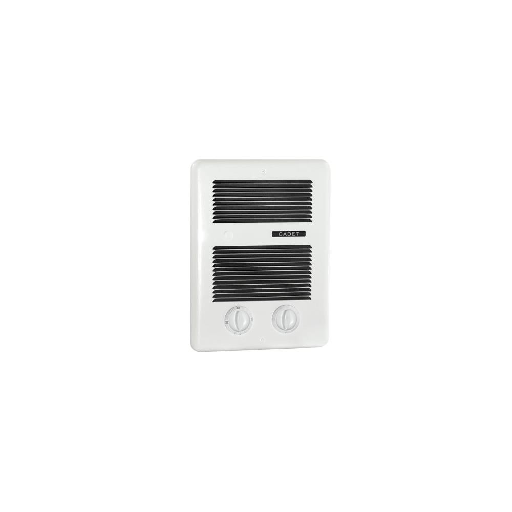 Cadet Cbc103t 3415 Btu 120240 Volt Wall Mounted Bathroom Heater From The Com Pak Series White