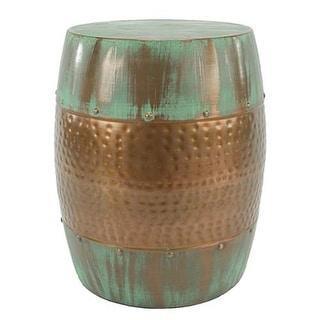 Aspire Home Accents 2685 Nantucket Metal Stool - Copper