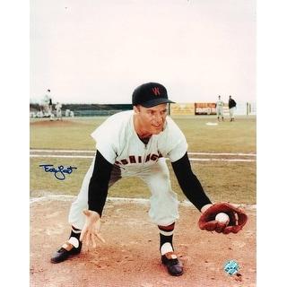 Eddie Yost Washington Senators Autographed 8x10 Photo