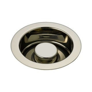 "Delta 72030 Classic 4-1/2"" Brass Flange and Disposal Stopper"