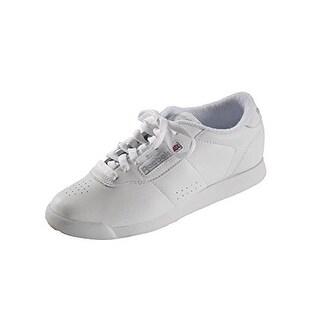 Reebok Women's Princess Aerobics Shoe,White, 9 M