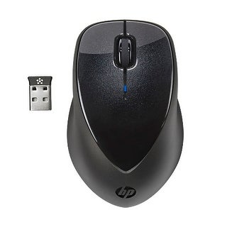 """""""HP x4000 Mouse HP x4000 Mouse - Laser - Wireless - Radio Frequency - Black - USB - 1600 dpi - Computer - Scroll Wheel - 3"""
