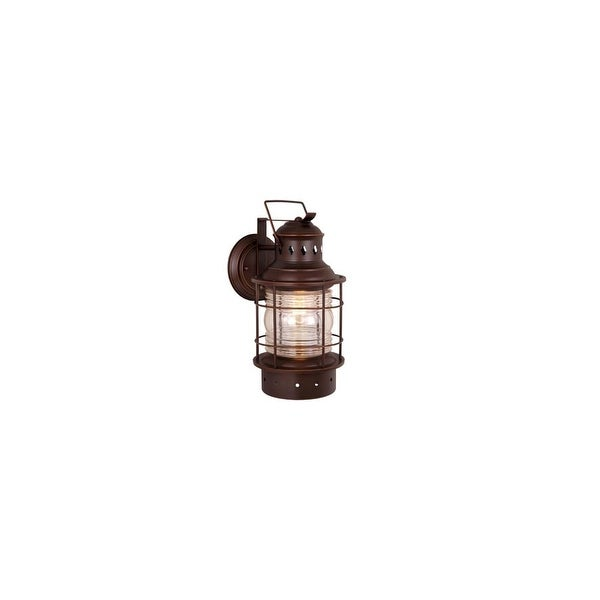 """Vaxcel Lighting OW37051 Hyannis 1-Light Outdoor Wall Sconce - 6.75"""" Wide - n/a"""